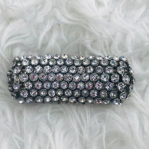 Anthropologie rhinestone bracelet